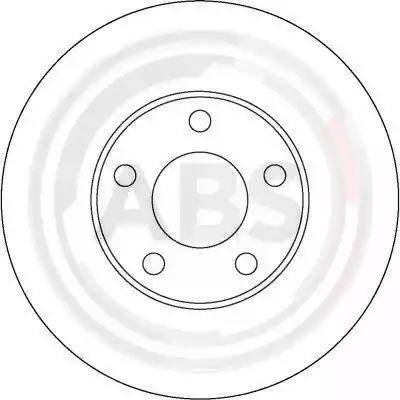 A.B.S. 16878 - Bremžu diski interparts.lv