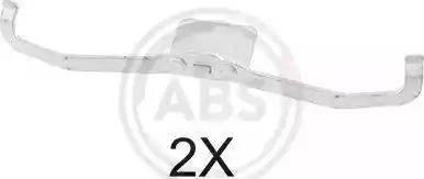 A.B.S. 1639Q - Piederumu komplekts, Disku bremžu uzlikas interparts.lv