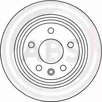 A.B.S. 16340 - Bremžu diski interparts.lv