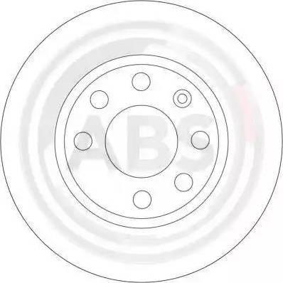 A.B.S. 16305 - Bremžu diski interparts.lv