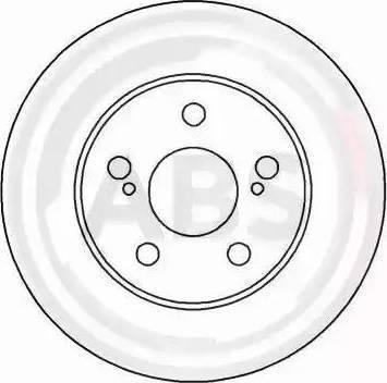 A.B.S. 16301 - Bremžu diski interparts.lv