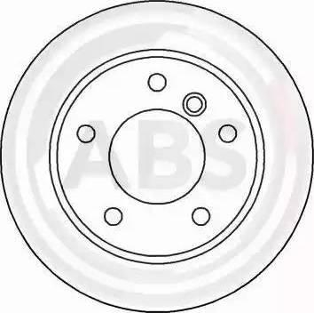 A.B.S. 16339 - Bremžu diski interparts.lv