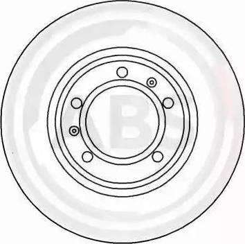 A.B.S. 16331 - Bremžu diski interparts.lv