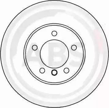 A.B.S. 16332 - Bremžu diski interparts.lv