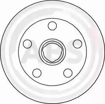 A.B.S. 16329 - Bremžu diski interparts.lv