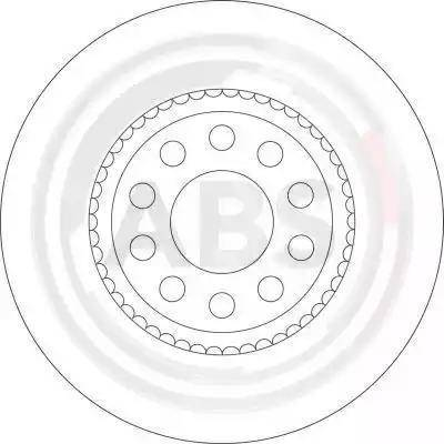 A.B.S. 16328 - Bremžu diski interparts.lv