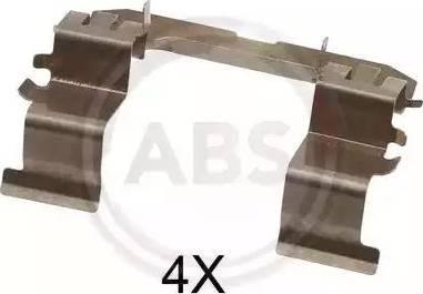 A.B.S. 1632Q - Piederumu komplekts, Disku bremžu uzlikas interparts.lv