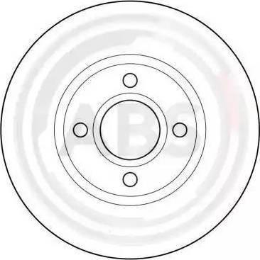 A.B.S. 16371 - Bremžu diski interparts.lv