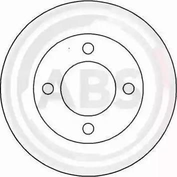 A.B.S. 16299 - Bremžu diski interparts.lv