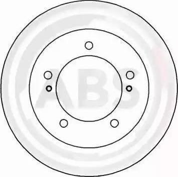 A.B.S. 16294 - Bremžu diski interparts.lv