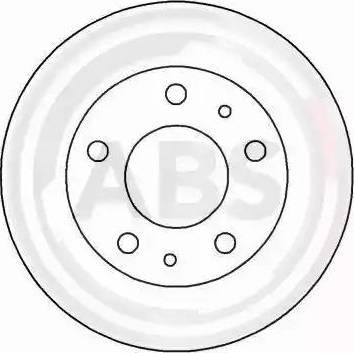 A.B.S. 16290 - Bremžu diski interparts.lv