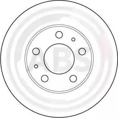 A.B.S. 16291 - Bremžu diski interparts.lv