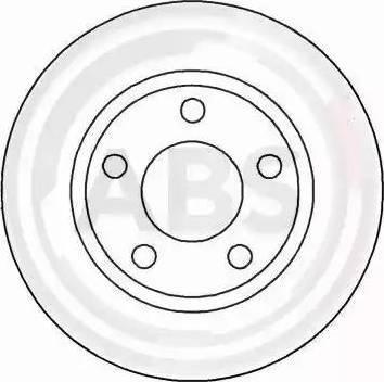 A.B.S. 16293 - Bremžu diski interparts.lv