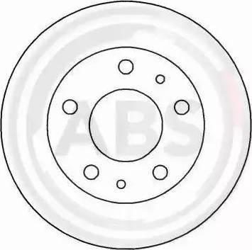 A.B.S. 16292 - Bremžu diski interparts.lv