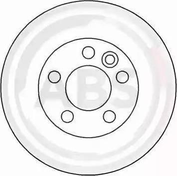 A.B.S. 16297 - Bremžu diski interparts.lv