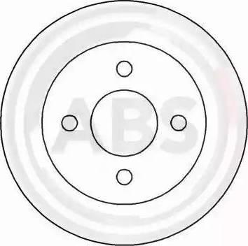 A.B.S. 16244 - Bremžu diski interparts.lv