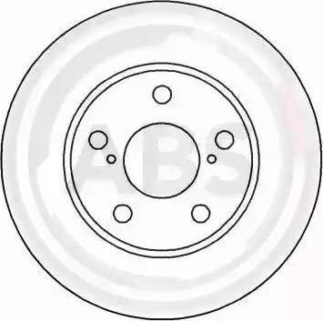 A.B.S. 16245 - Bremžu diski interparts.lv