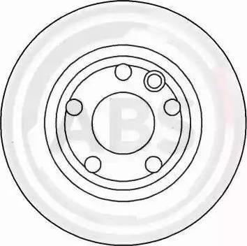 A.B.S. 16246 - Bremžu diski interparts.lv
