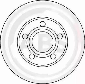 A.B.S. 16248 - Bremžu diski interparts.lv