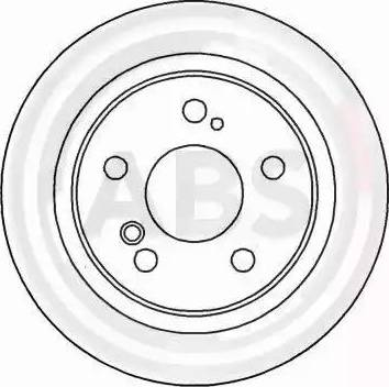 A.B.S. 16258 - Bremžu diski interparts.lv