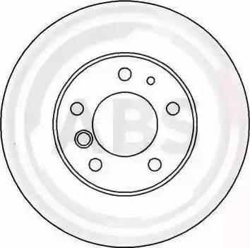 A.B.S. 16253 - Bremžu diski interparts.lv