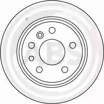 A.B.S. 16264 - Bremžu diski interparts.lv