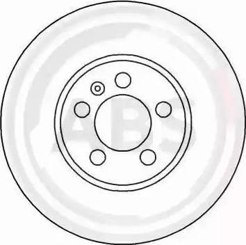 A.B.S. 16265 - Bremžu diski interparts.lv