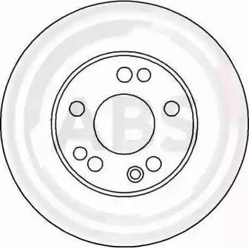 A.B.S. 16260 - Bremžu diski interparts.lv