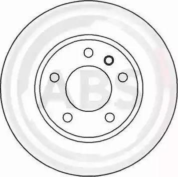 A.B.S. 16263 - Bremžu diski interparts.lv