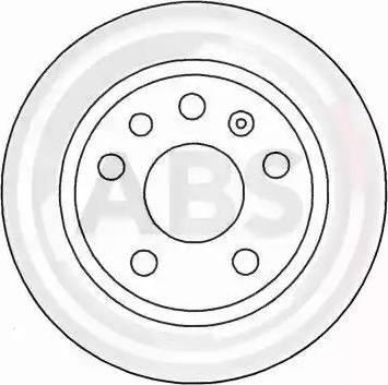 A.B.S. 16262 - Bremžu diski interparts.lv