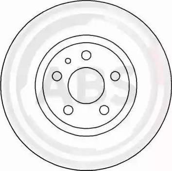 A.B.S. 16200 - Bremžu diski interparts.lv