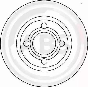 A.B.S. 16202 - Bremžu diski interparts.lv