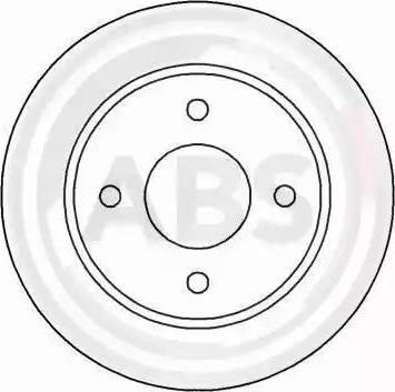 A.B.S. 16211 - Bremžu diski interparts.lv
