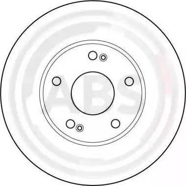 A.B.S. 16218 - Bremžu diski interparts.lv