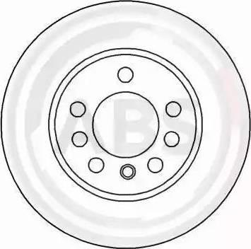 A.B.S. 16213 - Bremžu diski interparts.lv