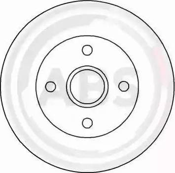 A.B.S. 16286 - Bremžu diski interparts.lv