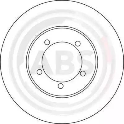A.B.S. 16283 - Bremžu diski interparts.lv