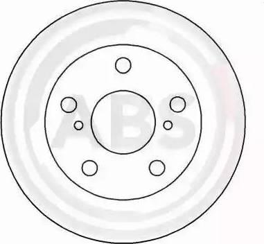 A.B.S. 16231 - Bremžu diski interparts.lv