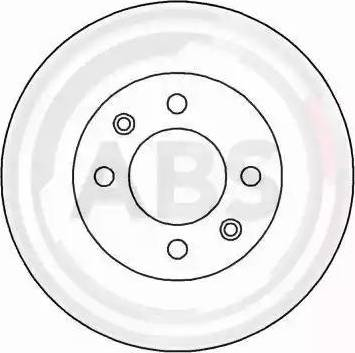 A.B.S. 16238 - Bremžu diski interparts.lv
