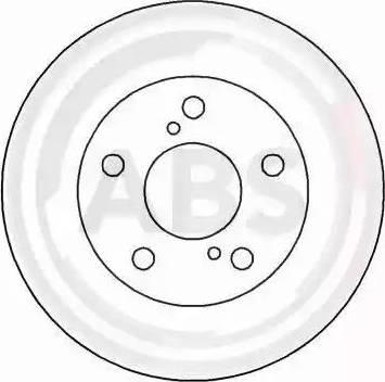 A.B.S. 16232 - Bremžu diski interparts.lv