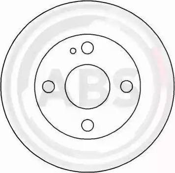 A.B.S. 16225 - Bremžu diski interparts.lv