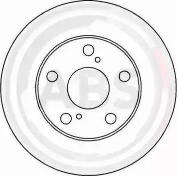 A.B.S. 16220 - Bremžu diski interparts.lv