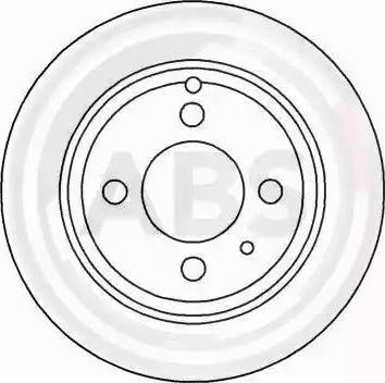 A.B.S. 16221 - Bremžu diski interparts.lv