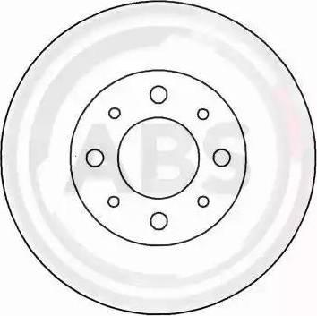A.B.S. 16222 - Bremžu diski interparts.lv