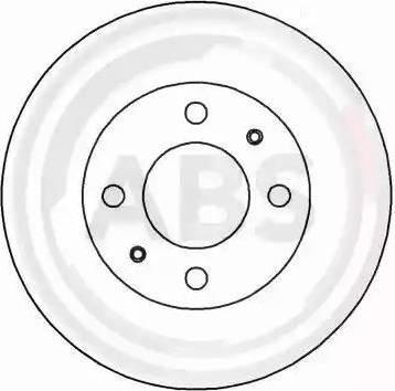 A.B.S. 16271 - Bremžu diski interparts.lv
