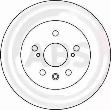 A.B.S. 16277 - Bremžu diski interparts.lv