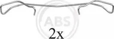 A.B.S. 1678Q - Piederumu komplekts, Disku bremžu uzlikas interparts.lv