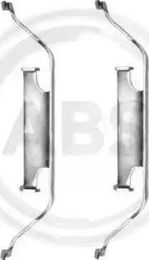 A.B.S. 1096Q - Piederumu komplekts, Disku bremžu uzlikas interparts.lv