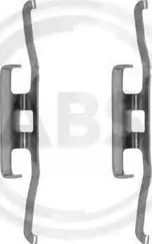 A.B.S. 1098Q - Piederumu komplekts, Disku bremžu uzlikas interparts.lv