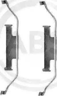A.B.S. 1097Q - Piederumu komplekts, Disku bremžu uzlikas interparts.lv